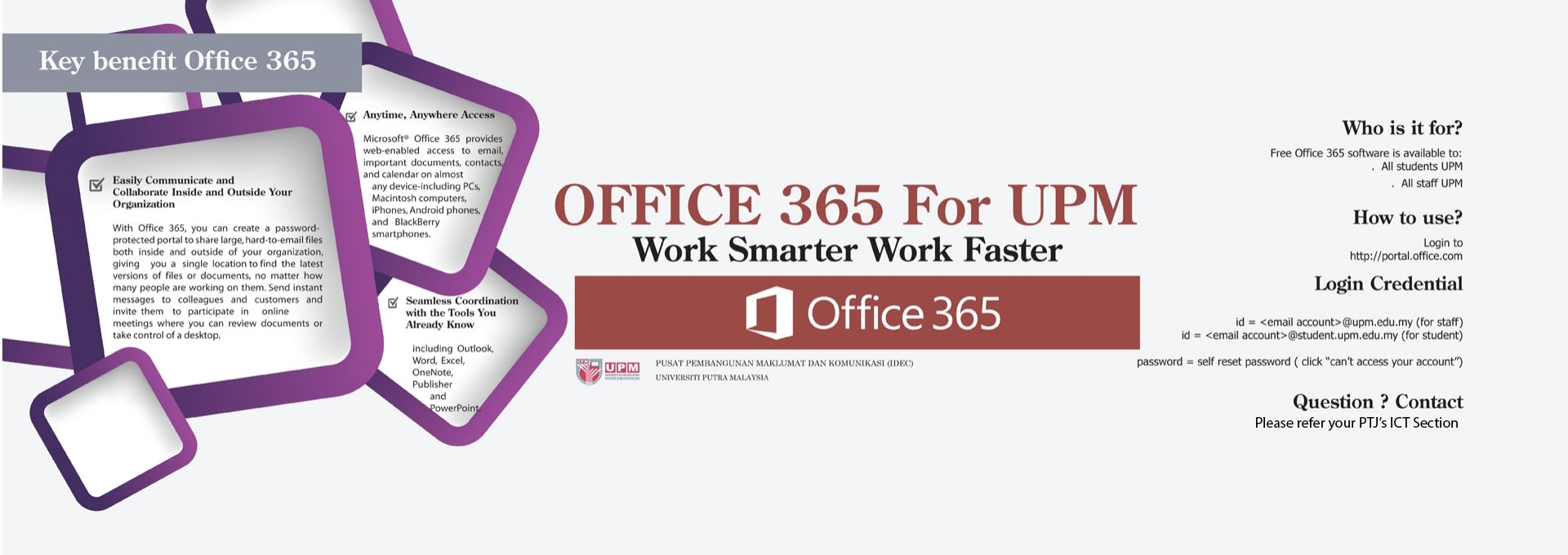 OFFICE 365 For UPM